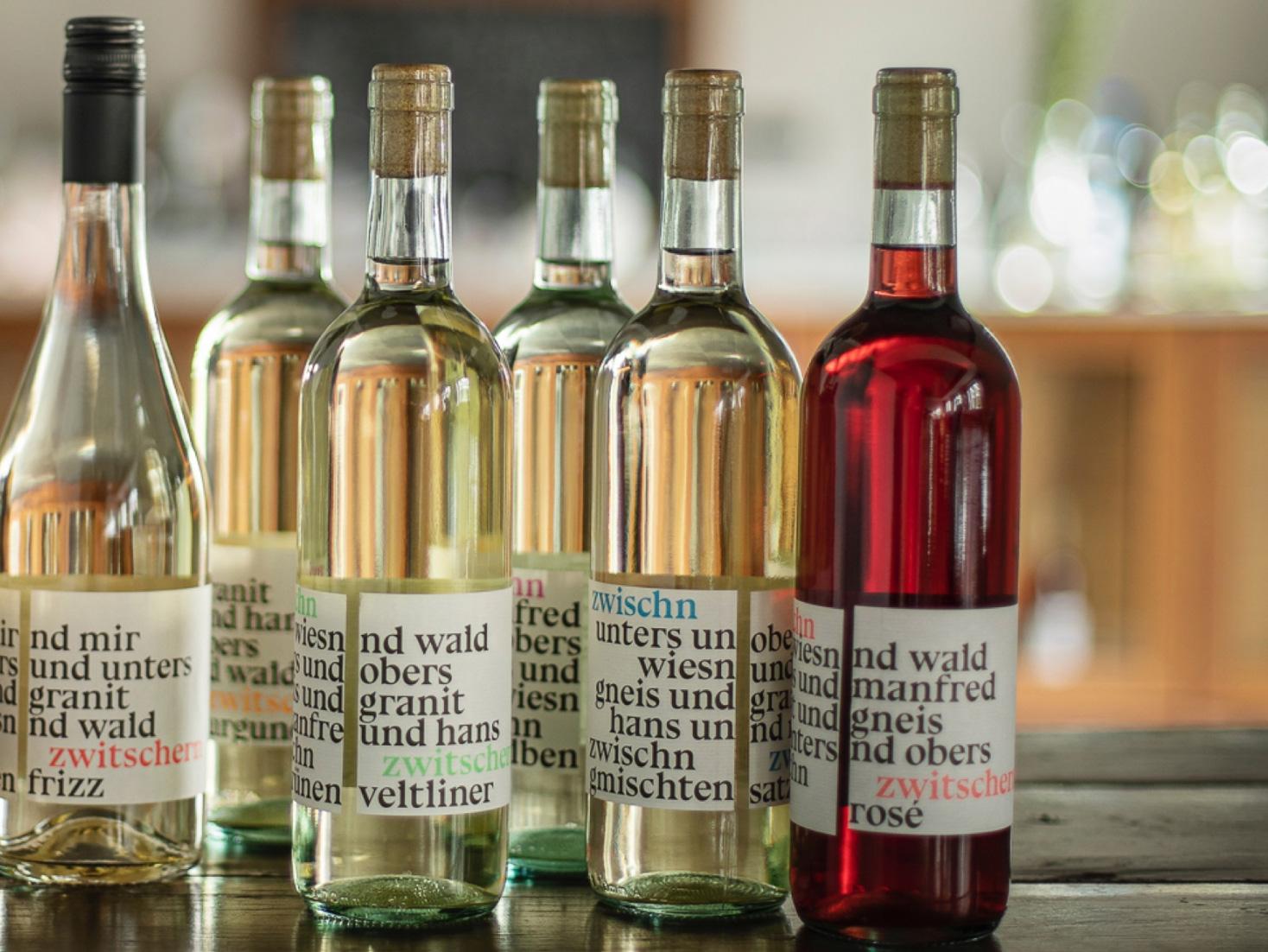 Zwischn Zwitschern Wein Weingarten Haselgraben Manfred Georg Friedl