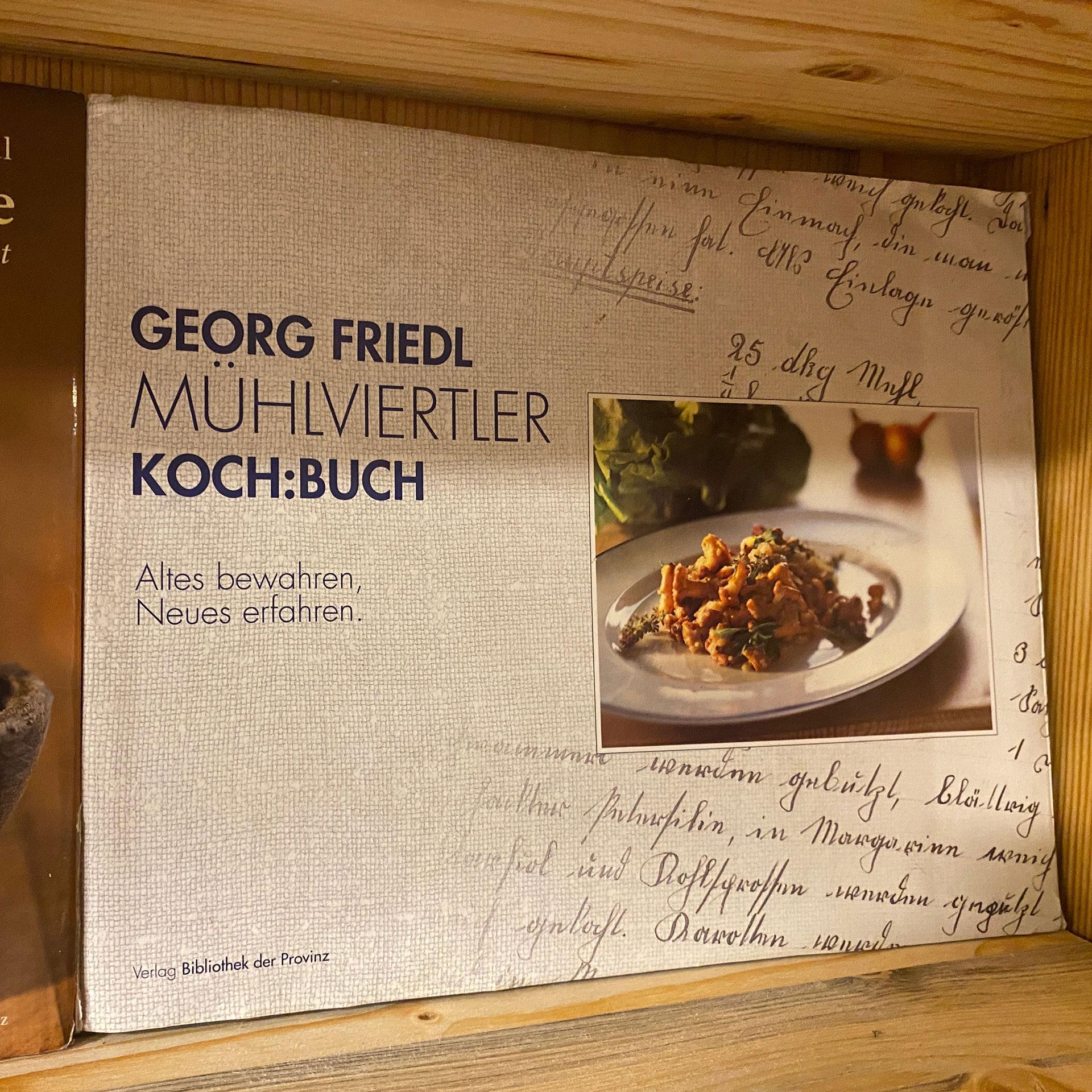 Kochbuch Wein Weingarten Haselgraben Manfred Georg Friedl
